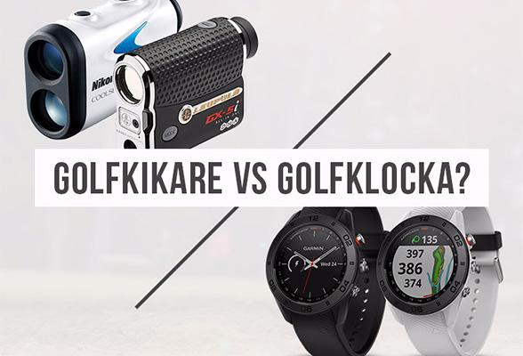 Golfkikare vs GPS-klocka - Vad är bäst?