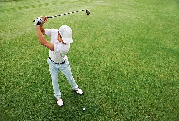 Backspinn - det snyggaste och roligaste golfslaget